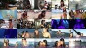 Ares Teixido Video Desliz Pezón Se Quita El Bikini y Besa A Su Compañera